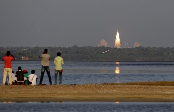 Индия успешно вывела на орбиту навигационный спутник  Подробнее на ТАСС: http://tass.ru/kosmos/2599182